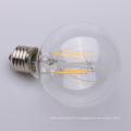 Filament droit E27 clair de 4w 6w 8w Dimmable E27 clair 80mm 95mm 125mm G80 G95 G125