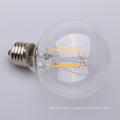 4w 6w 8w Dimmable Straight Filament LED E27 Clear 80mm 95mm 125mm G80 G95 G125