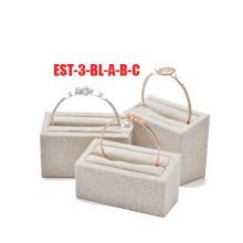 Foam Flock Jewelry Earring Display Set Wholesale (ES-3-BL-A-B-C)