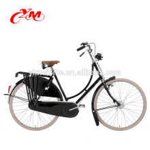 Factory supply OEM city bike/HIgh quality city bike frame Made in China/steel rim material fashional style city star bike CE
