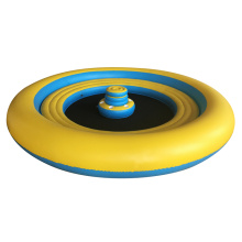 round shape Big inflatable floating island