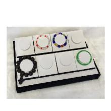 Boa qualidade White Black Bracelet Bracelet Display Tray Wholesale