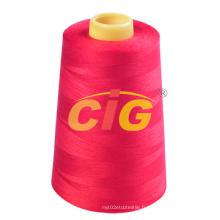 100% polyester fil de couture (2001-0402)
