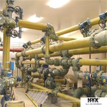 GFK-Rohrverschraubung - T-Stück für Rohrleitungsanschluss