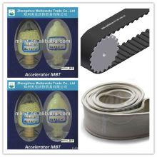 caucho vulcanizado acelerador MBT (M) para la industria del caucho compuestos CAS NO.: 149-30-4