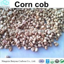 Repas d'épi de maïs pour le polissage 80-120 granule épi de maïs