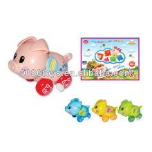 Милая свинья игрушка-малышка, заведи игрушку