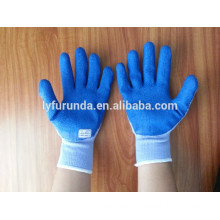 FURUNDA safety gloves wholesale latex coated hand work gloves for construction work