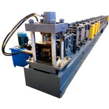 Fabricación de China de aluminio de alta velocidad ligero puntal helf gabinete bastidor rack rollo formando la máquina