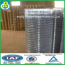 Uma fábrica de ping galvanizado soldada malha de arame / reforço de concreto soldado malha de arame (China alibaba)
