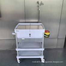 Farboptionaler Krankenhaus-ABS-Behandlungswagen