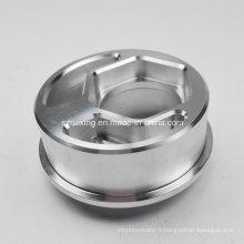 Usinage CNC de pièces de rechange industrielles (couverture en aluminium)