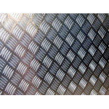 A1050 H24 five bar thread Plate / checkered Aluminum sheet/plate