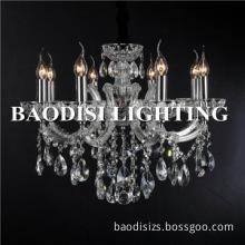 wholesale zhongshan baodisi splendid led crystal pendant chandelier