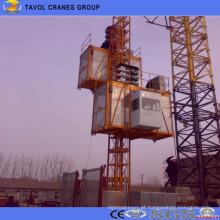 Grua do edifício da construção de Sc200 / 200 2 toneladas