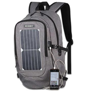 2017 Computadora portátil al aire libre del bolso del panel solar de Manufacuturer ECE-668 hombro