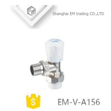 EM-V-A156 Radiator brass manual control valve vertical brass temperature control valve