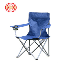 Cadeira de praia dobrável customizada multiuso para camping e exterior