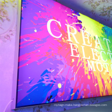 Customized design electronic signs UV print advertising lightbox for indoor and restaurant lightbox lighting board