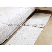 Hot seling custom logo available100 percent wholesale cotton hotel bath mat