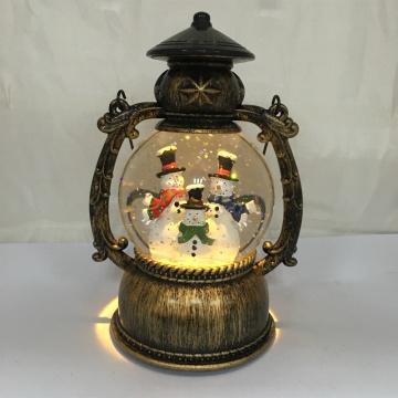 "Globe de Neige à Lanterne Led, 8 ""H"