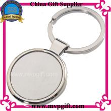 Porte-clés en métal de haute qualité avec logo imprimé