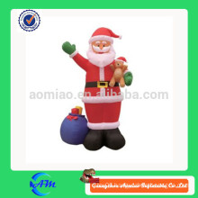 Christmas inflatable gifts, inflatable santa claus for sale