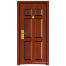 Puerta de madera de acero (FXGM-C306)