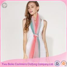 2017 Непал осень стиль оптовая сексуальное градиент красочные пашмины шали