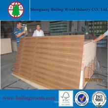 Poplar Core Teak Veneer Plywood/Commercial Plywood