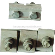 abrazadera de ranura paralela / accesorios de conexión de cable de pistola / conexión de empalme de cable / conexión eléctrica de línea de alimentación de aleación de aluminio