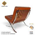 Silla de cuero Artificial del diseñador mobiliario oficina Barcelona (GV-BC01)