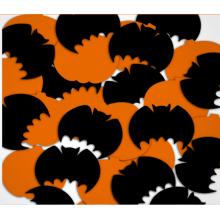 Halloween Pumpkin y Bat Mylar Confetti para la celebración