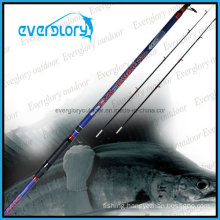 2PCS Tip Section Telescopic Boat Rod