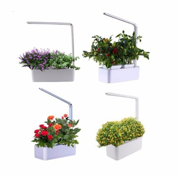 Hydroponics Garden flower pot  with Led light