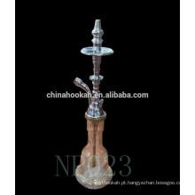 Egípcio narguilé / egípcio shisha / nargile / narghile / borbulhante hubbly NP023