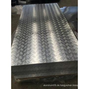 5052 H114 Aluminium Tretplatte für Deckbrett