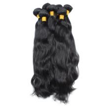 Venta al por mayor natural brasileña virginal del pelo del 100%
