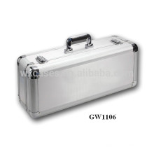 ¡Nueva llegada!!!!!! maleta de eminentes de aluminio fuerte y portátil de venta caliente de la fábrica de China