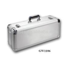Новое прибытие!!! сильный & портативных алюминиевых видных чемодан из Китая завод Горячие продажи