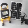 Lumière solaire de travail d'inondation de l'ÉPI de Rechargeble de l'ÉPI 10W d'Ultra luminosité portative, lampe de camping rechargeable sans fil résistante à l'eau