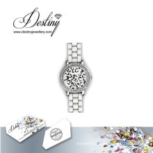 Судьба ювелирные изделия кристалл от Swarovski Chic Часы