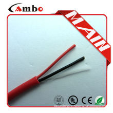 Made In China high quality 1000ft Red FPL FPLR cctv system fire alarm cable