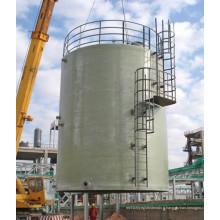 Réservoir FRP pour eau potable avalé sur site