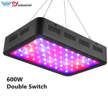 led crece la luz doble interruptor 600W