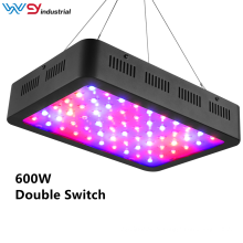 led cresce a luz interruptor duplo 600W