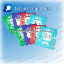 El asiento del inodoro de los fondos limpios cubre el bolso de empaquetado / los bolsos de plástico proveedor / los bolsos de empaquetado plásticos