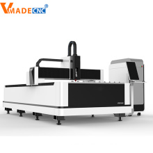Máquina de corte por láser de fibra de acero al carbono 1000W