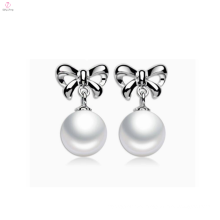 Cute Fashion Sterling Silver 925 Earring Pearl Stud