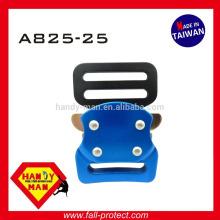 A825 Alumínio Pequeno Harness Rock Alpinismo Sport Belt Bolsa de moda Quick Release Buckle